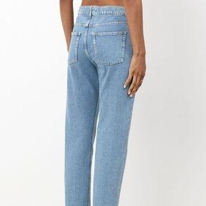 Acne Studios Boy Indigo Fray Jeans